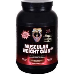Healthy 'N Fit Muscular Weight Gain 3 - Chocolate - 2.5 lbs #gainmuscle