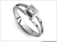 Princess-Cut-Diamond-Solitaire-Rings