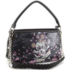 c36872d1afd0 Ed Hardy Treasure Chest Agnes Hobo Bag – Black Gothic Shoes
