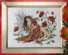 Poppy Fairy Cross Stitch