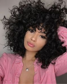 Cute curly hairstyles wigs for black women lace front wigs human hair wigs african american wigs Curly Hair Styles, Cute Curly Hairstyles, Short Curly Hair, Wig Hairstyles, Wavy Hair, Natural Hair Styles, Ombre Hair, Balayage Hair, Hairstyle Ideas