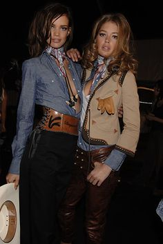 La mode version cowboy