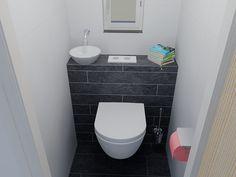 Toilet onder schuin dak badkamer toilet pinterest attic bathroom attic and toilet - Tub onder dak ...