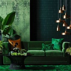 Find tons of mesmerizing green living room ideas that will totally inspire you! Pick the best one that you really love now! Living Room Furniture, Living Room Decor, Wooden Furniture, Antique Furniture, Living Area, Living Rooms, Furniture Design, Outdoor Furniture, Home Interior Design