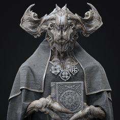 Old gods., Oleg Aleinikov on ArtStation at https://www.artstation.com/artwork/NLe4N