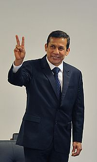 Ollanta Humala presidente do Peru