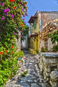 Patitiri Village, Alonnisos, Greece