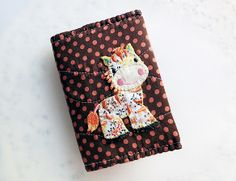 Patchworks Horse Frequent shopper Cards Case from Lily's Handmade - Desire 2 Handmade Gifts, Bags, Charms, Pouches, Cases, Purses by DaWanda.com
