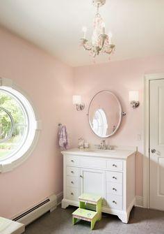 Mark Road Residence | Girls Bathroom | Z+ Interiors