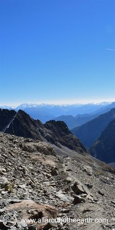 Spectacular views from high altitude hike in the French Alps, Ecrins National Park, Glacier Blanc. #France, #Alps, #hiking, #mountains, #travel, #travelblogger