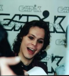 Ville Valo #VilleValo #HIM Wow what a good pic