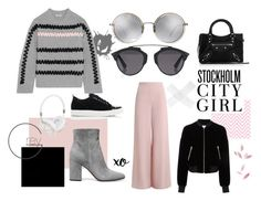 """""""- 3"""" by happyermil ❤ liked on Polyvore featuring Linda Farrow, Zimmermann, Lanvin, Gianvito Rossi, Frends, Christian Dior, xO Design, T By Alexander Wang, Balenciaga and Kenzo"""