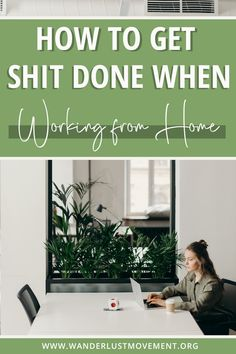 Struggling to stay productive while working from home? I've got you. Click to read how to stay productive as a remote worker, freelancer or digital nomad. These hacks will stop you from procrastinating and help you blaze through your task list with ease! #productivity #workingfromhome #remotework #digitalnomad