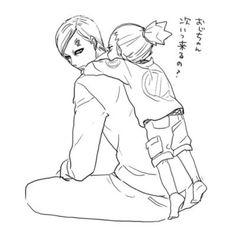Gaara ji-san... i wanna piggy ride now