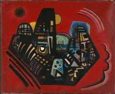 Black-Red -  Wassily Kandinsky