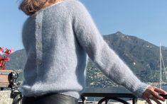 Mini Me - Isabellas fødselsdagssweater - FiftyFabulous Mini Me, Men Sweater, Sweaters, Fashion, Threading, Moda, La Mode, Sweater