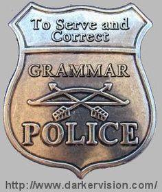 Grammar Police - Paigie
