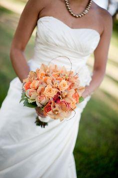 tangerine bouquet