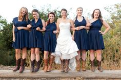 boots & bridesmaids infinity dress           by TheRadicalThreadCo, $99.00