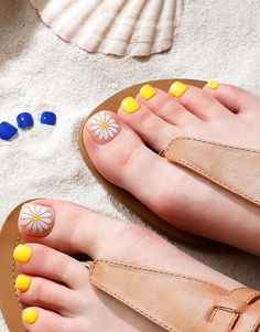 27 very pretty colorful nails for the sunny days you must try! Great Nails, Daily Makeup, Toe Nail Designs, Toe Nails, Perfect Match, Sunny Days, Nail Colors, Sunnies, Manicure