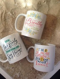 Breathe or just don't I'm a mug. New mugs from @emily_mcdowell In store now!   #virginiabeach #mug #coffee #funny #sassy #quote