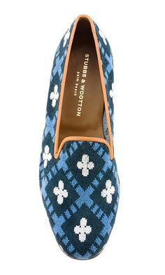 There is nothing more classic than a pair of needlepoint shoes