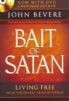 Living Free From the Deadly Trap of Offense. This book exposes one of Satan's most deceptive snares used to pull believers out of God's will: the trap of offense. On the special bonus DVD... THE BAIT OF SATAN + DVD / JOHN BEVERE