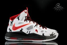 Nike LeBron X Tommy Boy Customs by Revive