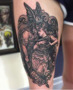 Intricate piece by em at www.creamcitytattoo.com City Tattoo, Cream, Tattoos, Creme Caramel, Tatuajes, Japanese Tattoos, Tattoo, Tattoo Illustration, A Tattoo