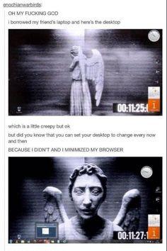 Creepy desktop background.