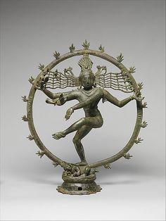 Shiva as Lord of Dance (Shiva Nataraja), 12th-13th c. South India, Bronze