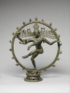 Shiva as Lord of Dance (Shiva Nataraja) Period: Chola period (880–1279) Date: late 12th–early 13th century Culture: India (Tamil Nadu) Medium: Copper alloy Dimensions: H. 25 3/4 in. (65.4); W. 22 in. (55.9 cm); D. 7 3/4 in. (19.7 cm) Classification: Metalwork Credit Line: Harris Brisbane Dick Fund, 1964 Accession Number: 64.251
