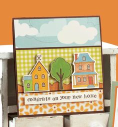 New Home Card by @Kimberly Kesti