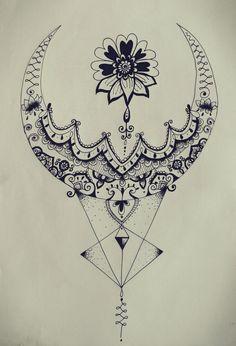 Resultado de imagen de mandala tattoo