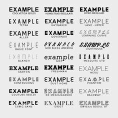 "Download argentie: "" my favorite free fonts: giddyup std · uralita ..."