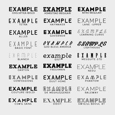 "Download argentie: "" my favorite free fonts: giddyup std · uralita ..."