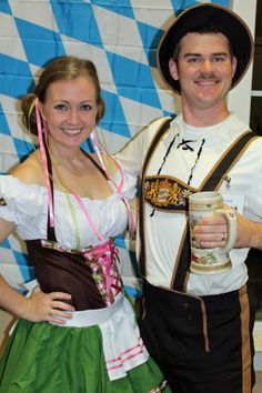 Oktoberfest Party Ideas: Invitations, Costumes, Nametags, Games, Prizes and Decorations!