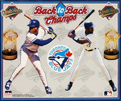 Blue Jays - Back to Back World Series Wins Toronto Blue Jays, Young Old, Sports Wallpapers, The Championship, World Series, Victorious, Team Logo, Raptors, Baseball