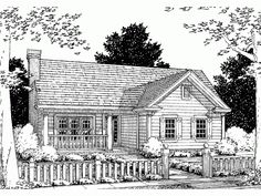Eplans Country House Plan - Four Bedroom Country - 1451 Square Feet and 4 Bedrooms from Eplans - House Plan Code HWEPL60788