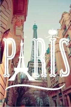 Paris. | Graphisme | Pinterest