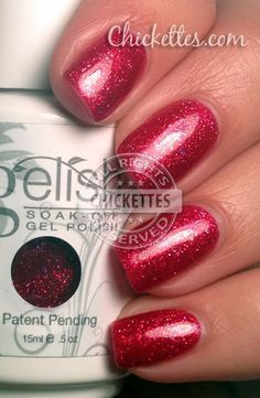 Gelish All Tied Up... With a Bow Color Swatch