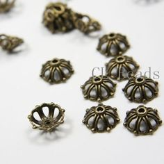 20pcs-Antique-Brass-Tone-Base-Metal-Caps-13mm-10098Y-J-32