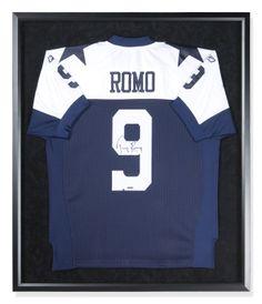 101f6c04a Tony Romo Signed Autographed Alternate Dallas Cowboys Jersey Custom FRAMED  UDA Tony Romo