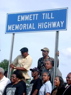 Emmett Till Highway - sign is frequently torn down!