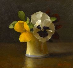 ❀ Blooming Brushwork ❀ - garden and still life flower paintings - Sarah K. Lamb