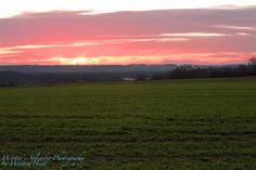 Winter's sunset (Pressath, Germany