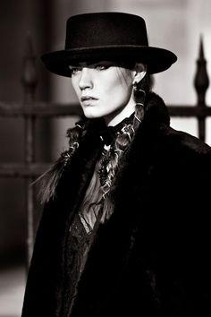 Patrycja Gardygajlo wvokes orthodox style in Alexander Neumann's L'Officiel Paris Shoot (2012)