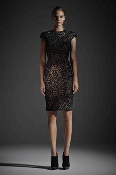 R14 EVA DRESS BLACK