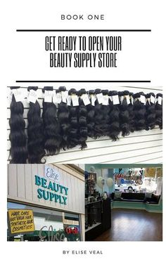 Get Ready to Open Your Beauty Supply Store Beauty Supply Store, Get Ready, Lace Wigs, Social Media, Business, Book, Building, Products, Books