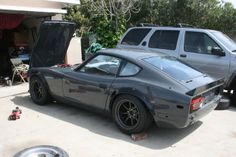 1978 Nissan Love the grey Nissan Z Cars, Nissan 240sx, Jdm Cars, 240z Datsun, Datsun Car, Japanese Sports Cars, Car Goals, Japan Cars, Modified Cars